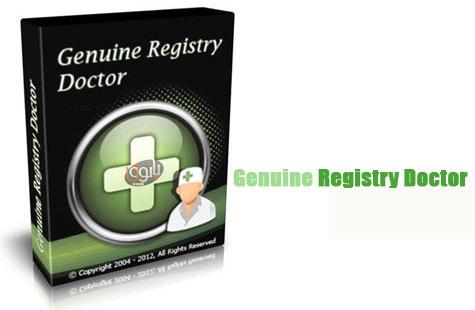 Genuine Registry Doctor دانلود فا نرم افزار  دانلود برنامه Genuine Registry Doctor دانلود